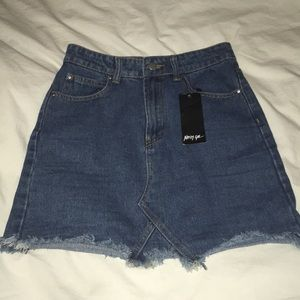 NWT Denim Skirt